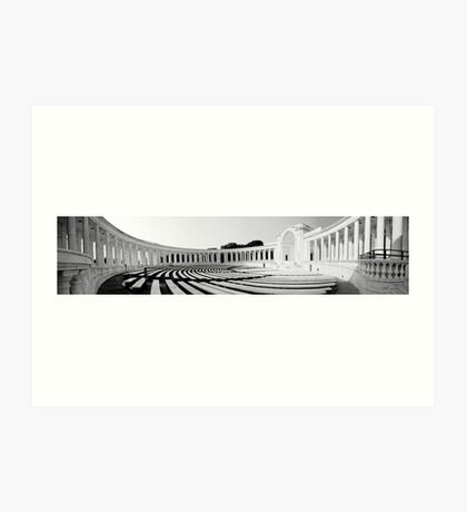 Tomb of the unknown soldier amphitheater Art Print
