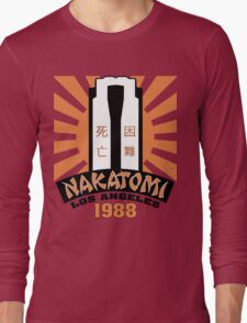 Nakatomi, 1988 Long Sleeve T-Shirt