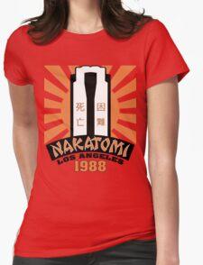Nakatomi, 1988 Womens Fitted T-Shirt