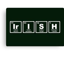 Irish - Periodic Table Canvas Print