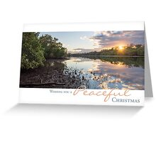 Sunrise - Tallebudgera Creek, Gold Coast, Australia Greeting Card
