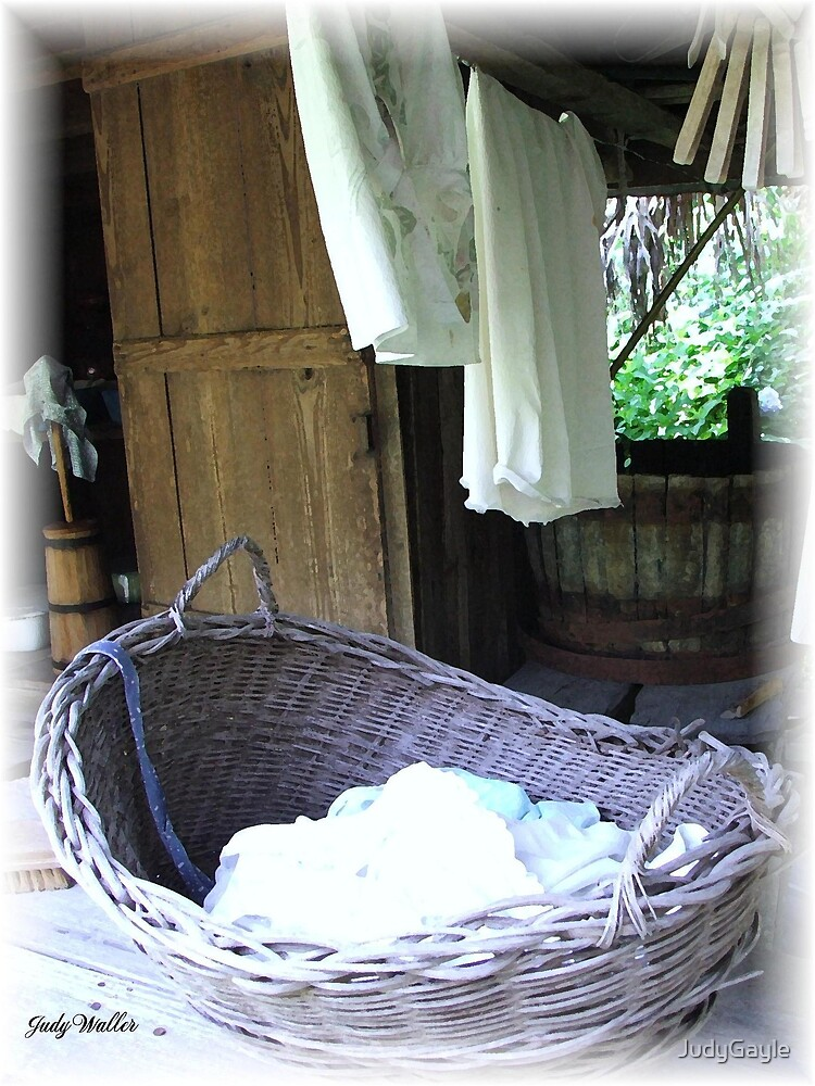 Laundry Day Blues by Judy Gayle Waller