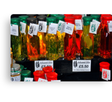 The United Colours of Belfast Bottled! Canvas Print