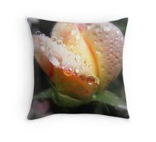 Quietly Weeping Throw Pillow
