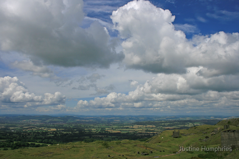 Walking on top of the World by Justine Humphries