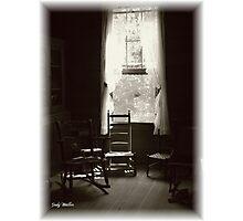 Cracker House Chair Photographic Print