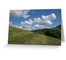 Clouds to die for Greeting Card