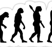 Evolution Childcare Worker Sticker