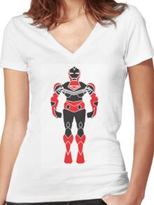 SuperHero Revolution Women's Fitted V-Neck T-Shirt
