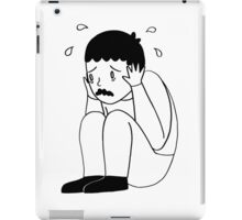 I'm Freaking Out - Black & White iPad Case/Skin