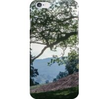 Another patch of hillside above RydalWater Rydal Lake District England 19840520 0014 iPhone Case/Skin