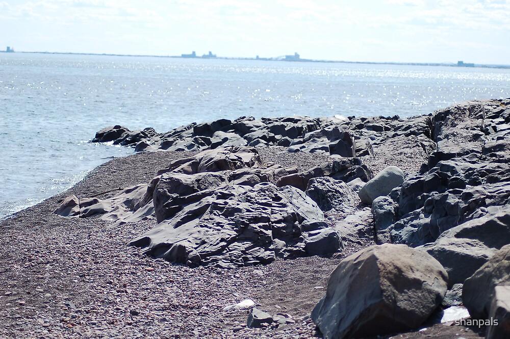 Lake Superior Shore by shanpals