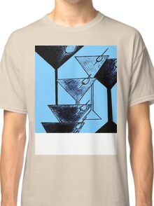Abstract Martini  Classic T-Shirt