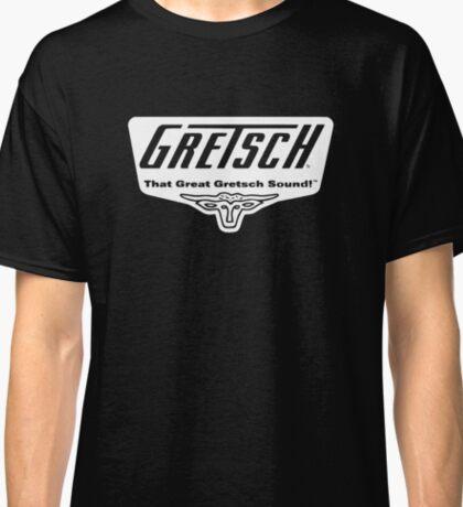 GRETSCH VINTAGE LOGO WHITE Classic T-Shirt