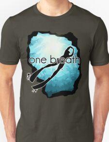 One breath: Freediving T-Shirt