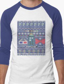 Who Christmas Sweater Men's Baseball ¾ T-Shirt