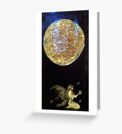 faerie moon Greeting Card