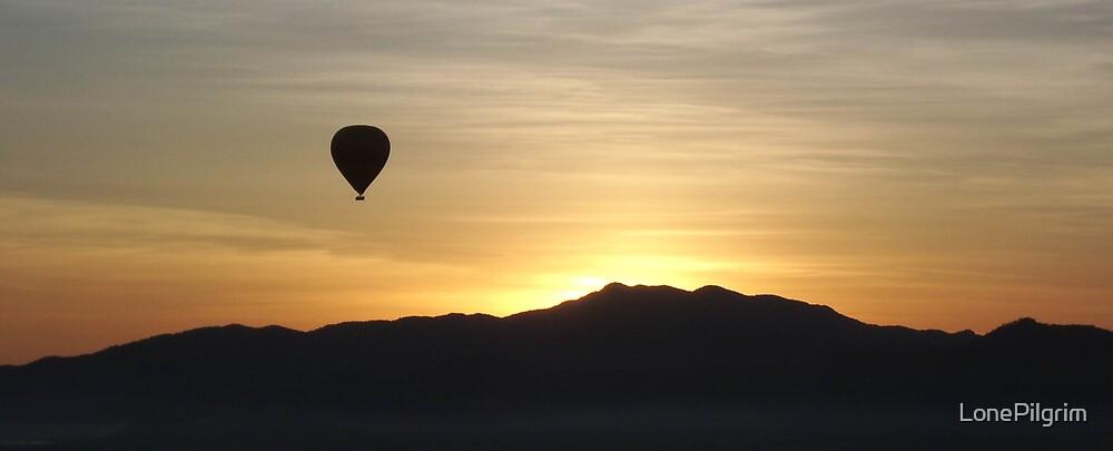 Balloon Sunrise by LonePilgrim