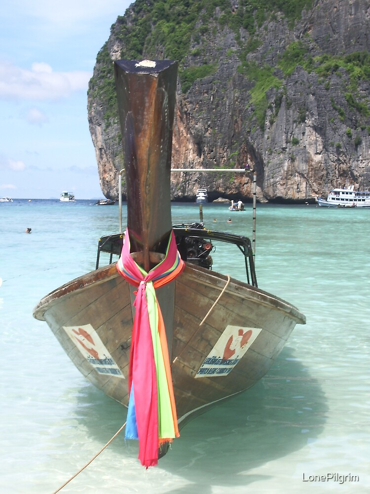 Thai Boat by LonePilgrim