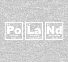 Poland - Periodic Table Kids Clothes