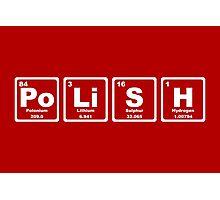 Polish - Periodic Table Photographic Print