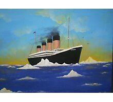 Titanics last voyage Photographic Print
