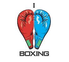 I Love Boxing by Hiram Cruz