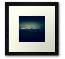 Blue Mount Roland Framed Print