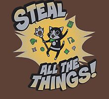 Steal All the Things by savagesparrow