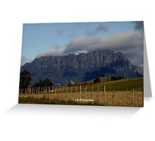Australia - Tasmania Mt Roland Greeting Card