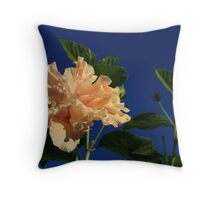 Peach Passions Throw Pillow