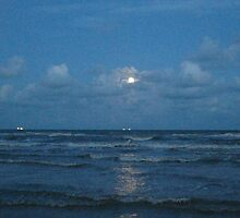 Night over Galveston by Ana Madrigal