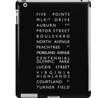Atlanta Streets iPad Case/Skin