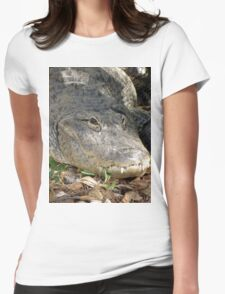 Alligator Smile Womens Fitted T-Shirt