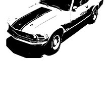 1970 Ford Mustang Mach 1 by garts