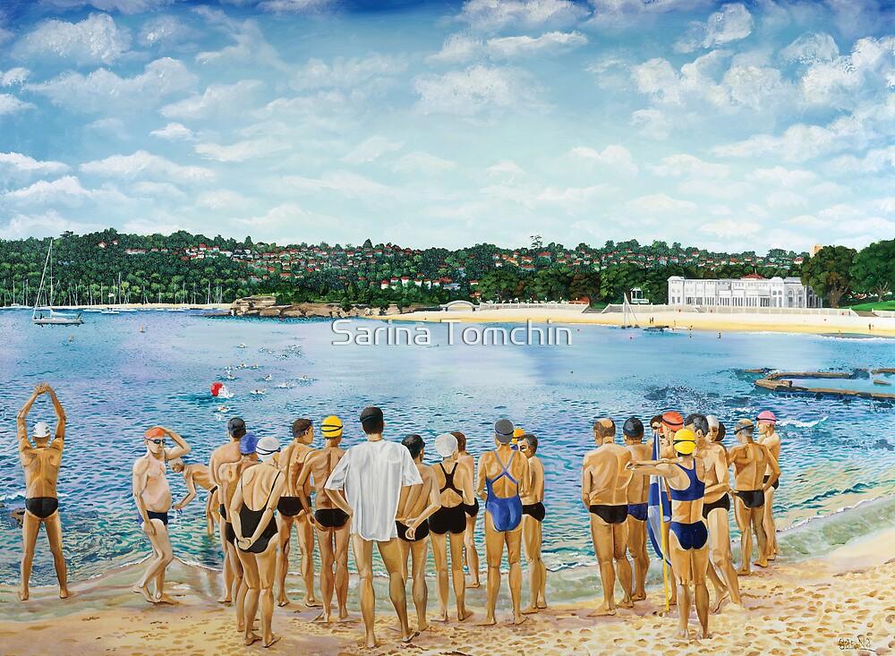 The Swimming Club by Sarina Tomchin
