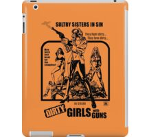 Dirty Guns With Guns iPad Case/Skin