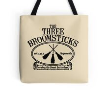 The Three Broomsticks, Harry Potter, ButterBeer Tote Bag