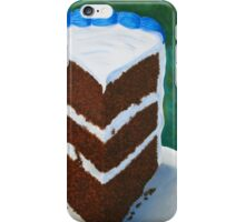 Chocolate Cake iPhone Case/Skin