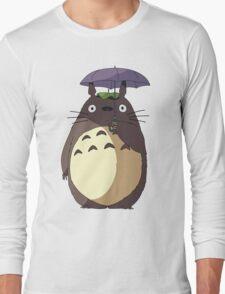 My Neighbour Totoro - Umbrella Totoro Long Sleeve T-Shirt