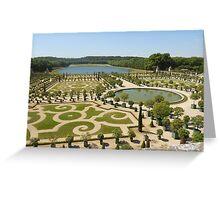 Garden of Versailles Greeting Card