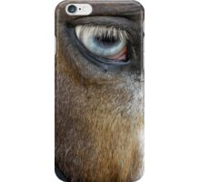 Blue Eyed iPhone Case/Skin