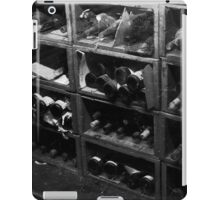 Dusty Old Bottles BW iPad Case/Skin