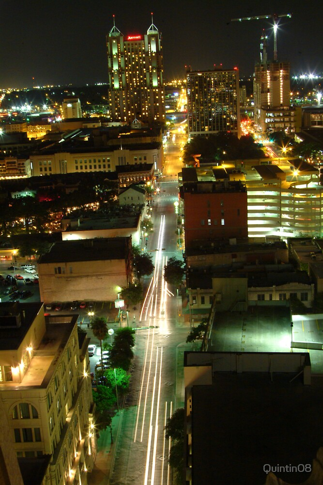 San Antonio Streets by Quintin08