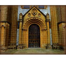 Buckfast Abbey Entrance Photographic Print