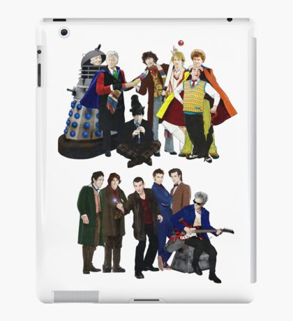 Doctor Who - The 13 Doctors II iPad Case/Skin