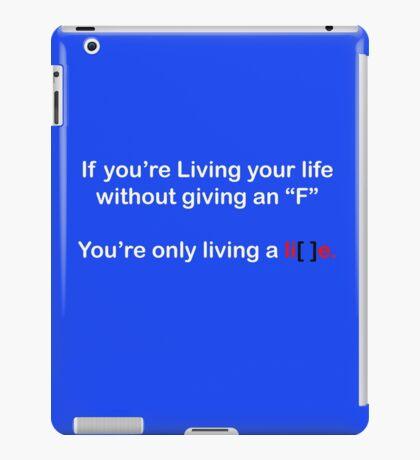 Living a Lie iPad Case/Skin