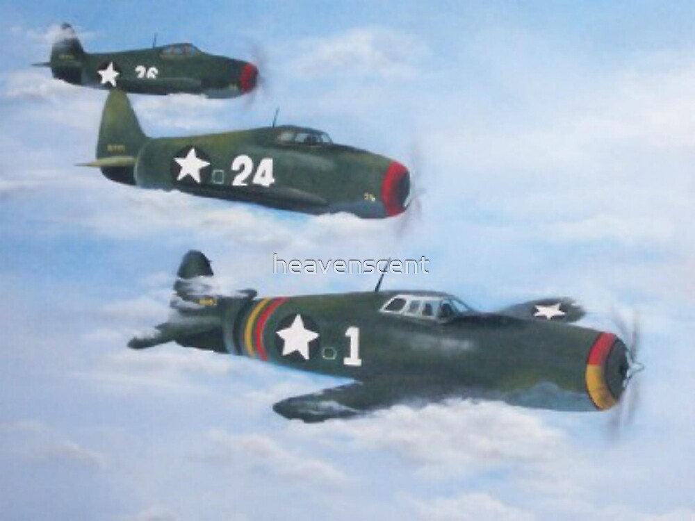 Bombers in flight by heavenscent
