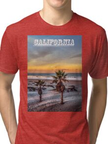 Wake up for Sunrise in California Tri-blend T-Shirt