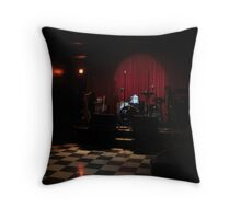 Funky-Jazz bar Throw Pillow